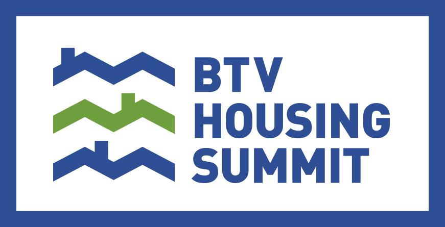 Image: Burlington Housing Summit.