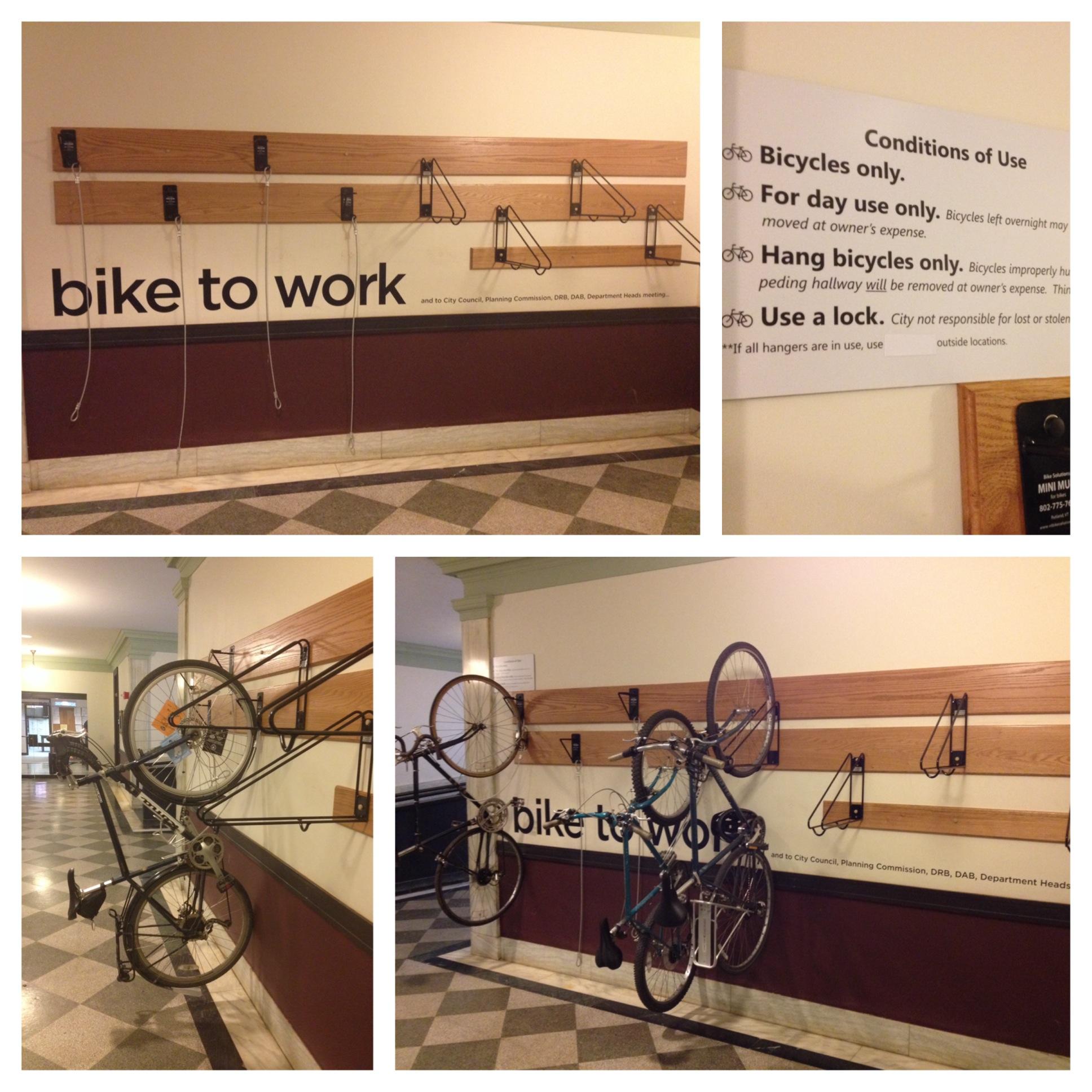 Indoor Bike Parking City Of Burlington Vermont