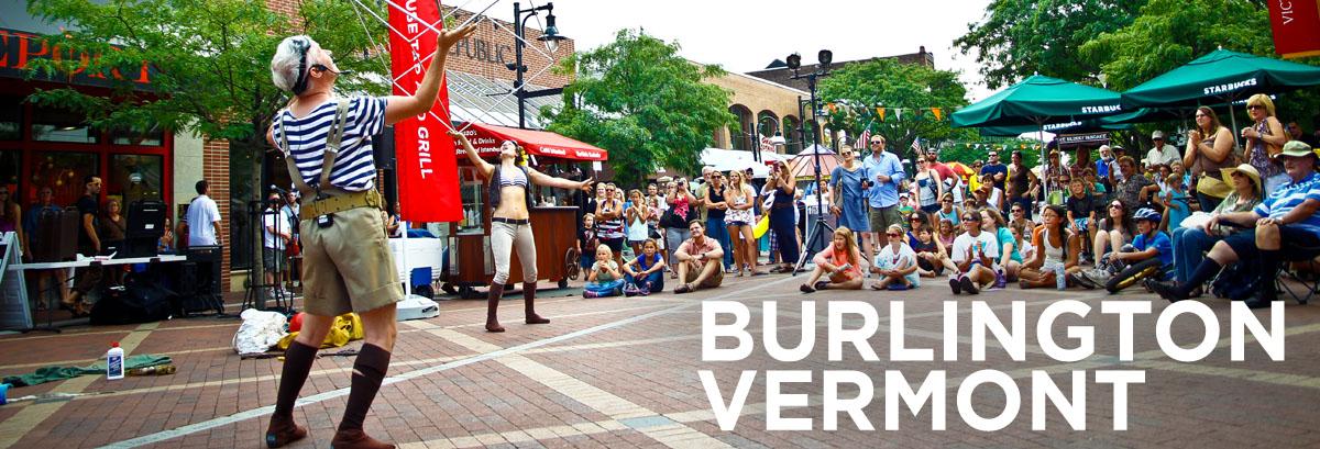 Summer Street Performers on Church Street Marketplace