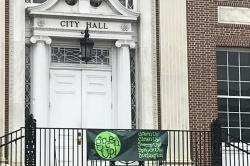 Photo: Green Up Day at City Hall