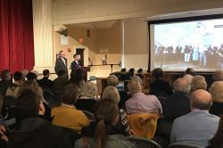 Photo: Sister City ceremony.